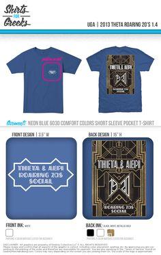 Kappa Alpha Theta Roaring 20's  Shirts For Greeks  www.shirtsforgreeks.com