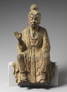 Laozi, Tang dynasty (618–907) or Northern Song dynasty, 8th–11th century - China - Bronze