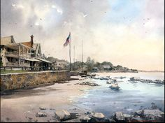 Vladislav Yeliseyev, Beach in Madison CT