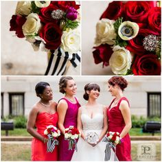 Kate Spade inspired Wedding | Florals photos by Cecily Procopio, Styling by Bright Occasions, Flowers EightTreeStreet, gowns by Ellie's Bridal Boutique