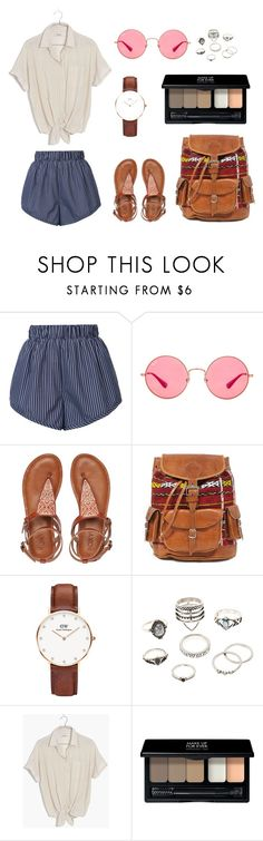 """Ízlésficam"" by kauka-kincso on Polyvore featuring STELLA McCARTNEY, Ray-Ban, Roxy, Daniel Wellington, Charlotte Russe, Madewell and MAKE UP FOR EVER"