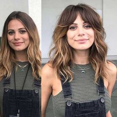 Want to shake your hair without a solitary stick, get some straight-cut or layered bangs. Here are layered haircuts with bangs in 20 pics! Layered Haircuts With Bangs, Bangs With Medium Hair, Round Face Haircuts, Long Bangs, Medium Hair Cuts, Hairstyles With Bangs, Medium Hair Styles, Curly Hair Styles, Bangs Hairstyle