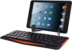 Aerb® Portable Wireless Bluetooth Keyboard with Mini Travel Stand Rechargeable Lithium Battery for Bluetooth Enabled Devices - Android 3.0 + Tablets / Mac OS / Windows / Google Nexus 7 / Google Android TV Box / Apple iPhone 4 4S 3GS 3G / iPad 2 3 4 5 / iPad Mini / Samsung Galaxy S4 S2 S3 Note Tab / PS3 & HTPC/IPTV HTPC (IBT01-Black) Aerb http://www.amazon.com/dp/B00EZL1HEI/ref=cm_sw_r_pi_dp_cxaDub0PRFV1M