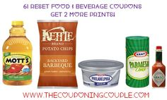 WOW..  Check out these 61 RESET Food & Beverage Coupons! You should be able too get 2 MORE Prints of all of these! I have made all 61 direct links that will clip the coupon or coupons for you! You can get the whole list HERE  ► http://www.thecouponingcouple.com/61-reset-food-and-beverage-coupons/  #Coupons #Couponing #CouponCommunity  Visit us at http://www.thecouponingcouple.com for more great posts!