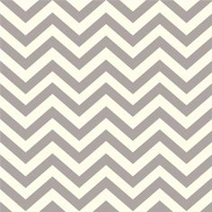 Organic Gray Chevron Fabric  Birch Mod Basics by CreateByTheYard, $8.25