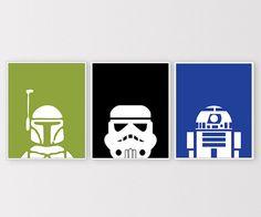 Star Wars Prints Star Wars Printables Minimal par ClaresPrintables