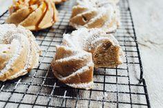 Orange walnut mini cakes & images from Paros   Little berries & co