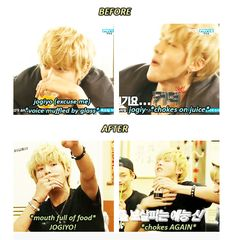 EXO'S SHOWTIME ep Kris trying to be seductive XD omg this made laugh so much XDD------> omfg notice chen in the last frame! Cnblue, Btob, Exo Showtime, Kim Jong Dae, Exo 12, Chanyeol Baekhyun, Wu Yi Fan, Xiuchen, Exo Korean
