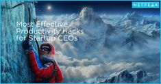 To help you increase your productivity and be able to do more in less time, we will show you the main CEO hacks from Mikael Cho, Founder & CEO at Crew and Unsplash