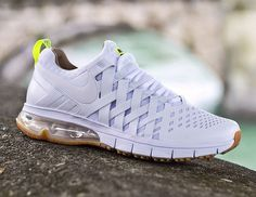Nike Fingertrap Max Gum Sole White  (0)