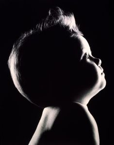 Baby Photo Idea - black & white photography