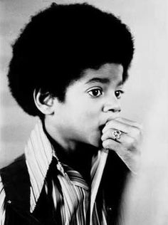 Michaeal Jackson while he was still just a nervous little innocent kid.....