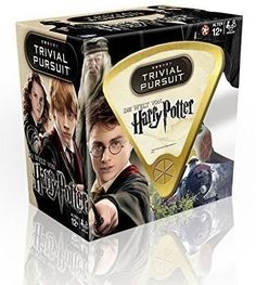 How exciting! A new Harry Potter game, this one called the World of Harry Potter Trivial Pursuit game. I like the idea that it is a compact travel game and that it will include ALL of the Harry Potter stories.