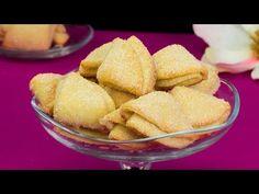 Domácí sušenky jako od babičky. Jednoduché, rychlé a chutné.| Chutný TV - YouTube Queijo Cottage, Ricotta Cookies, Biscuit Cake, Snack Recipes, Snacks, Party Desserts, Biscotti, Cornbread, Chips