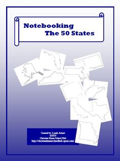 Notebooking the 50 states!