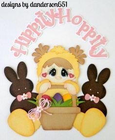 paper piecing easter | Hippity Hoppity Easter Paper Piecing Set - Using Treasure Box Designs