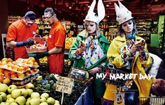 Vogue Japan 2014, My Market Day shoot, PHOTOGRAPHED BY GIAMPAOLO SGURA STYLED BY ANNA DELLO RUSSO