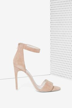Jeffrey Campbell Meryl Suede Heel | Shop Shoes at Nasty Gal