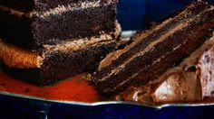 Chocolate layers cake