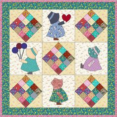 Sun bonnet sue quilt patterns free - Bing Images