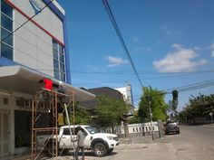 Perbaikan ACP Canopy Gedung Kantor ASKRIDA General Insurance, Banda Aceh