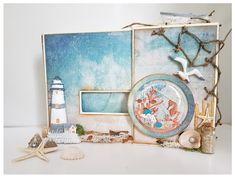 Lijn's scrap&stampin world: By the sea