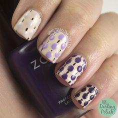 Nailpolis Museum of Nail Art | Ombre Dots by Marisa  Cavanaugh