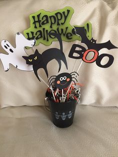 halloween centerpiece by bellissimaparty on etsy - Halloween Centerpieces
