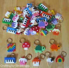 hama perler beads
