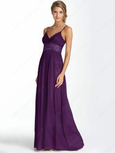 Sheath/Column Spaghetti Straps Chiffon Floor-length Sleeveless Pleats Formal Dresses -£89.39