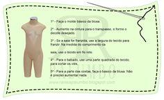 Ateliê de costura - Raíssa Palumbo: MÓDULO X - Moldes Infantis
