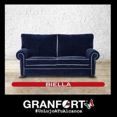 Comodísimo con #personalidad y renovadas formas , así es Biella, de Sofás de Autor Granfort #UnLujoATuAlcance