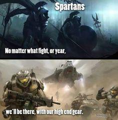 Spartans.....never die