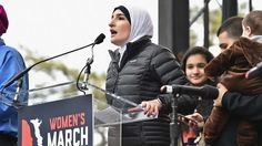 """This Tweet From One Women's March Organizer Shows How NUTS The Left's Worldview is.  1 of the 4 chief organizers for the Women's March is """"Palestinian-American-Muslim racial civil rights activist"""" Linda Sarsour. Sarsour, also served as a Democratic National Convention delegate, was honored by 0bama's admin as a """"Champion of Change""""; fittingly, she also posed in Chicago with an alleged Hamas financier (fitting because 0bama used to give speeches in honor of Palestinian terror mouthpiece R..."""