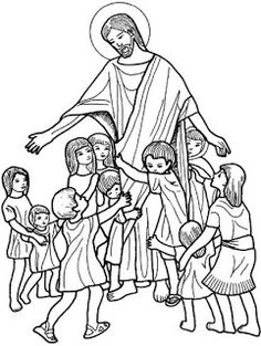 Resultado De Imagen Para Jesus Hijo De Dios Dibujo Ejercicios De