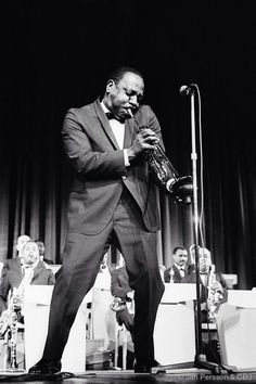 """Charles Melvin Williams, better known as """"Cootie"""" July 10, 1911 died September 15, 1985. Great trumpet player!"""