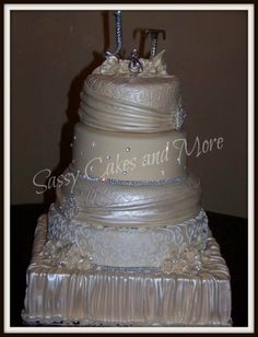 ivoey gram wedding By nanny1015 on CakeCentral.com