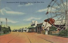 Pontchartrain Beach Amusement Park on Lake Shore Drive