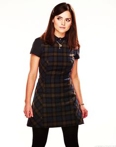 Doctor Who Challenge Day 19: least favorite actress.... it's Jenna Louise Coleman. But that's not saying much. All of the Doctor's female companions are amazazing. I love Clara Oswin Oswald is too great. But up against all the rest she just hasn't had enough time to show all the range of emotions that companions have to make. I can't wait to see it Clara!