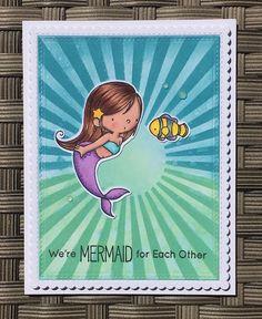 Mocha Frap Scrapper: Mermaid For Each Other - MFTWSC338