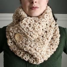 crochet cowl neck scarf - Buscar con Google