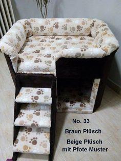 Hund: Schlafplätze - Hundesofa, Hundebett, Hundemöbel, Handgefertigt - ein Designerstück von tildi62 bei DaWanda