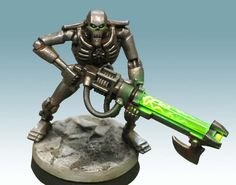 Welcome to From the Warp, your source for modeling and painting info in the Warhammer universe. Warhammer 40k Necrons, Warhammer Games, Necron Warriors, How To Clean Metal, Yellow Painting, Semi Transparent, White Paints, Weapons, Tabletop