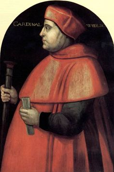 Cardinal Wolsey - Anne hated him.  Henry forced Wolsey to give up his palace, Hampton Court, to Henry.