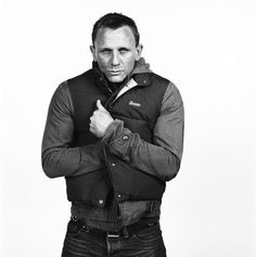 Daniel Craig in our Outback vest.