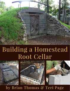 How to Build a Badass Hidden Root Cellar / Storm Shelter. A root cellar is a great place to store your food and root vegetables. Easy and cheap to build. Homestead Survival, Survival Prepping, Survival Skills, Survival Food, Wilderness Survival, Outdoor Survival, Survival Essentials, Casa Bunker, Bunker Home