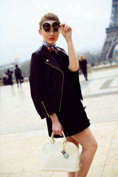 Nothing like Parisian chic – Louis Vuitton	bag !!