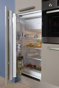 Bruynzeel Keukens koelkast met vriesvak (KKV10201A)