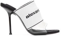 Heeled Sandals, Heeled Mules, Sandal Heels, Heel Stretch, Alexander Wang, Stiletto Heels, Women Wear, Slip On, Toe