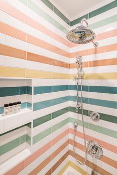Craftsman Bathroom, Fireclay Tile, Beautiful Bathrooms, Grey Bathrooms, Design Case, Bathroom Interior, Bathroom Tiling, Washroom, Bathroom Inspiration